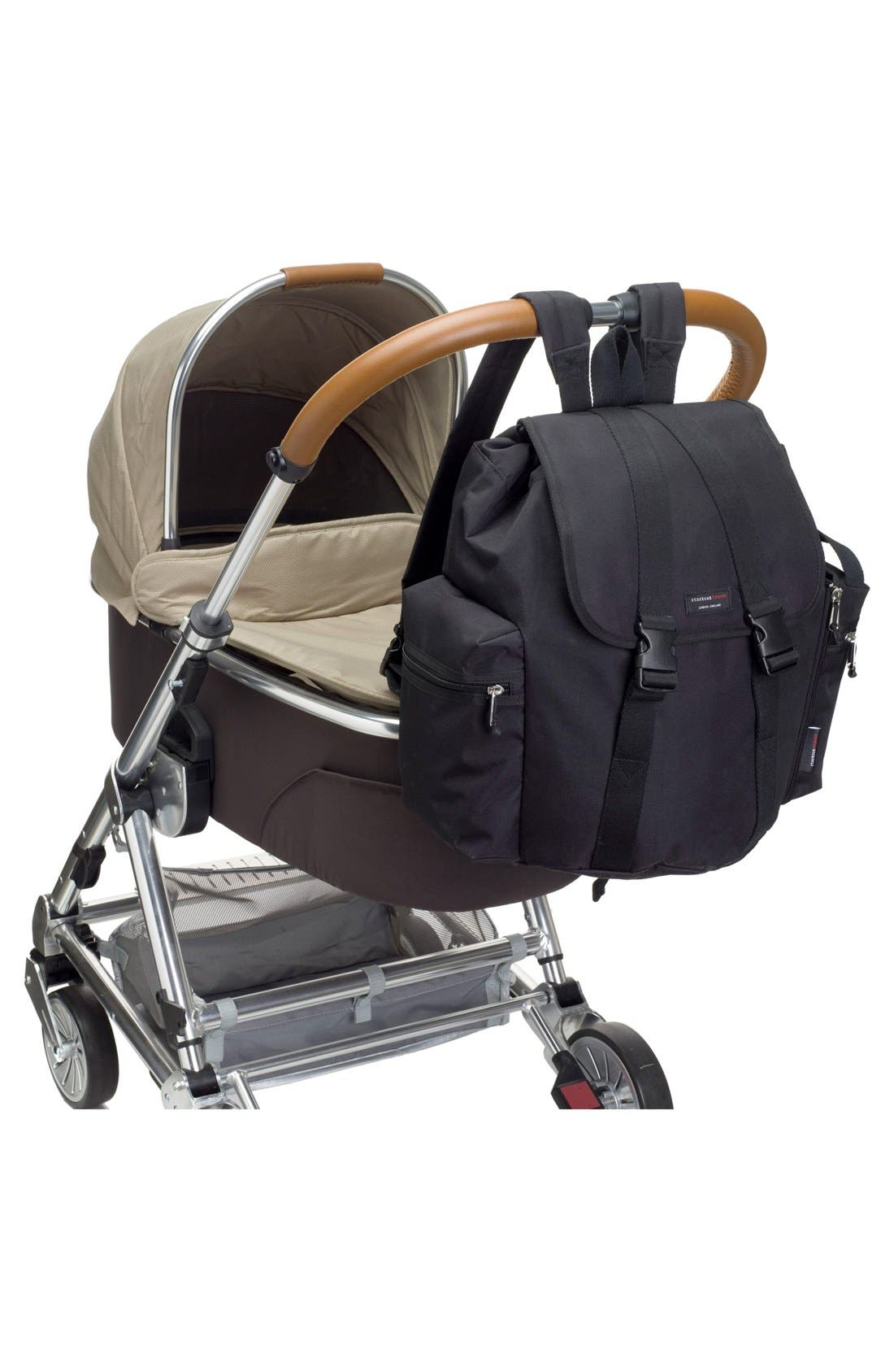 Alternate Image 6  - Storksak Travel Backpack Diaper Bag