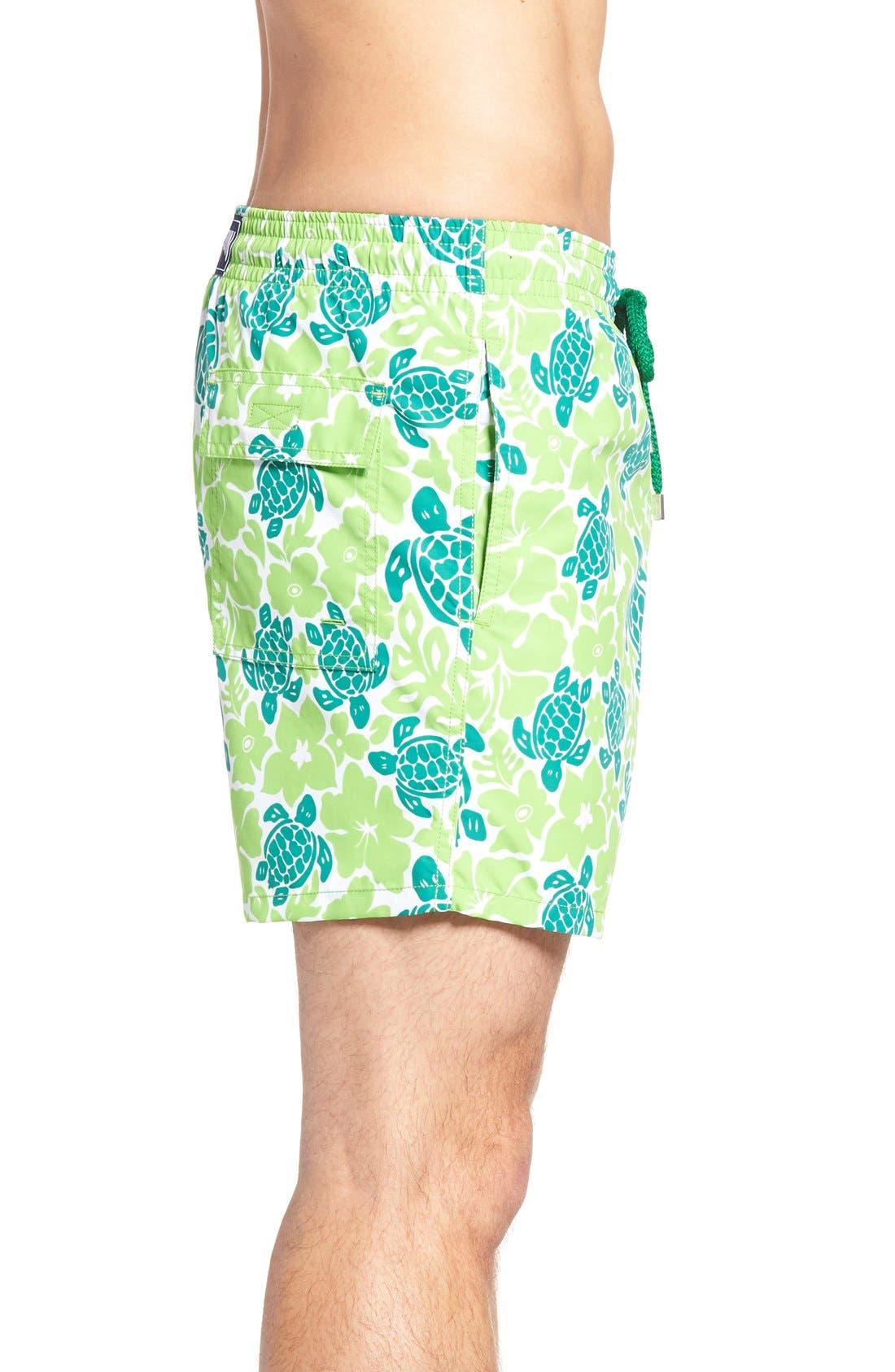 Alternate Image 3  - Vilebrequin Hawaiian Turtle Print Swim Trunks