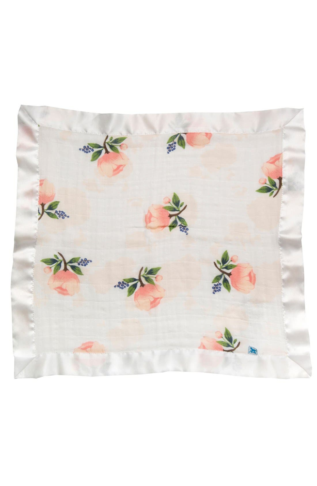 2-Pack Cotton Muslin Blankets,                         Main,                         color, Watercolor Rose