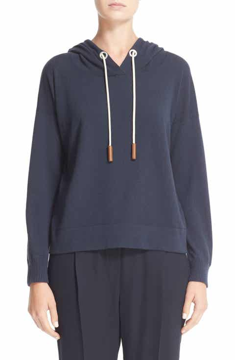 Fabiana Filippi Cashmere Hooded Sweatshirt