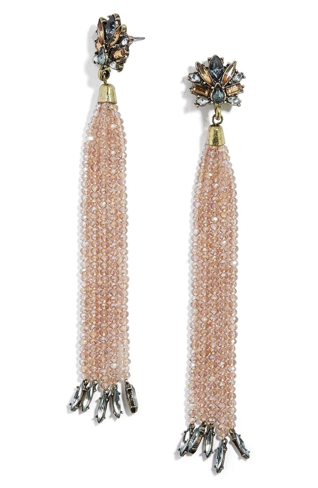 Main Image - BaubleBar Elizabella Drop Earrings