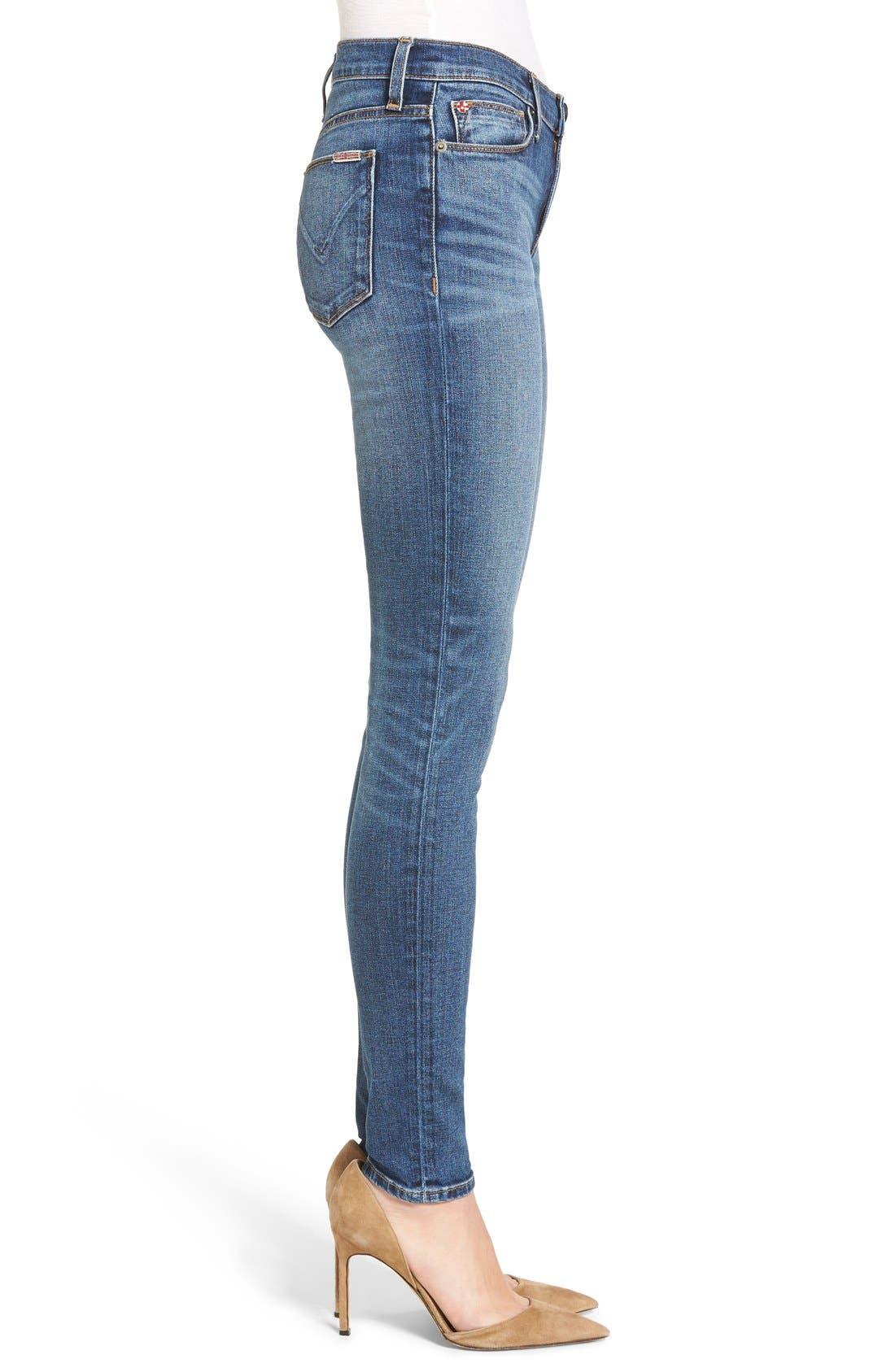 Nico Super Skinny Jeans,                             Alternate thumbnail 3, color,                             Legion
