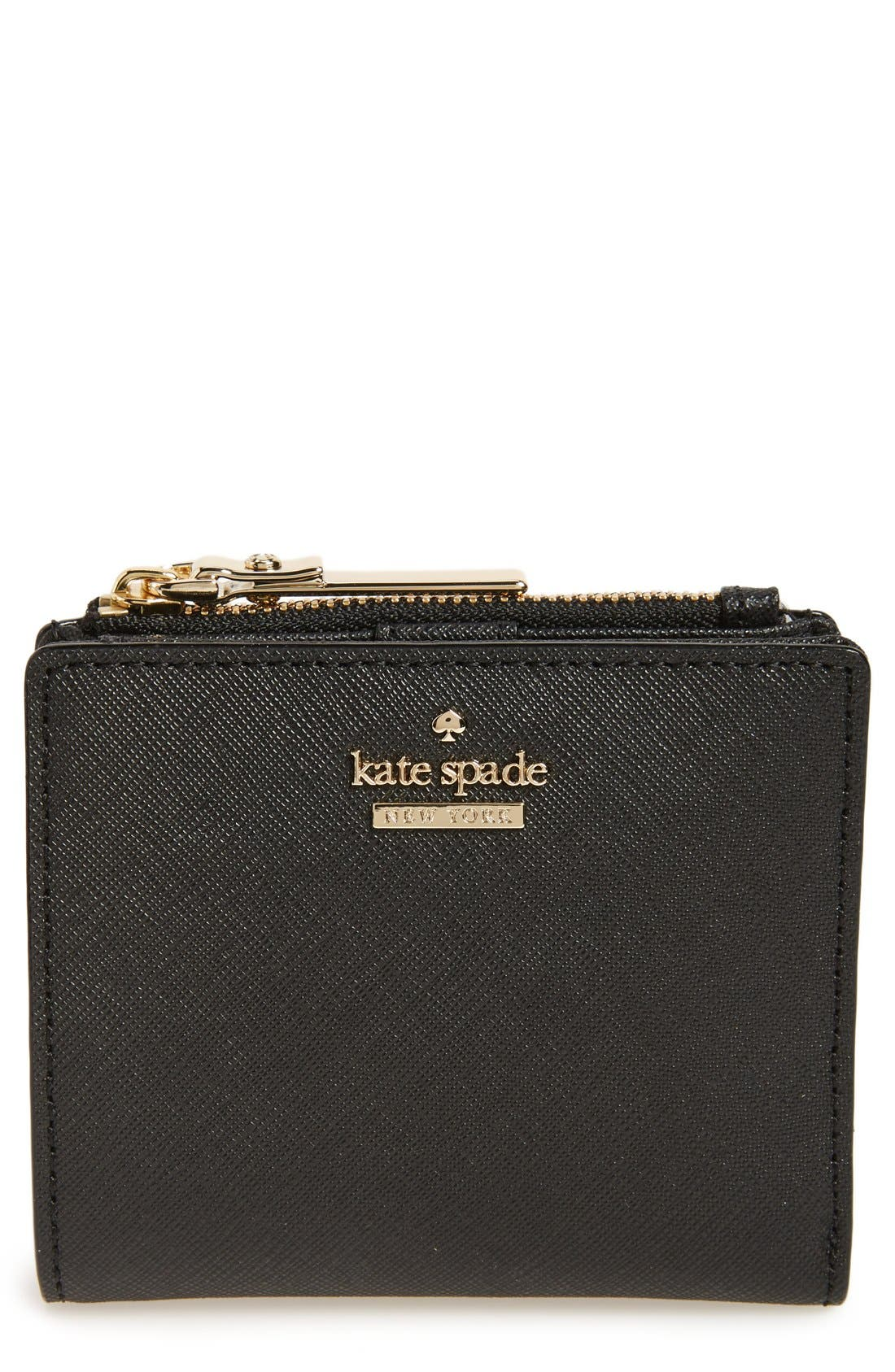 Main Image - kate spade new york cameron street - adalyn slim leather wallet