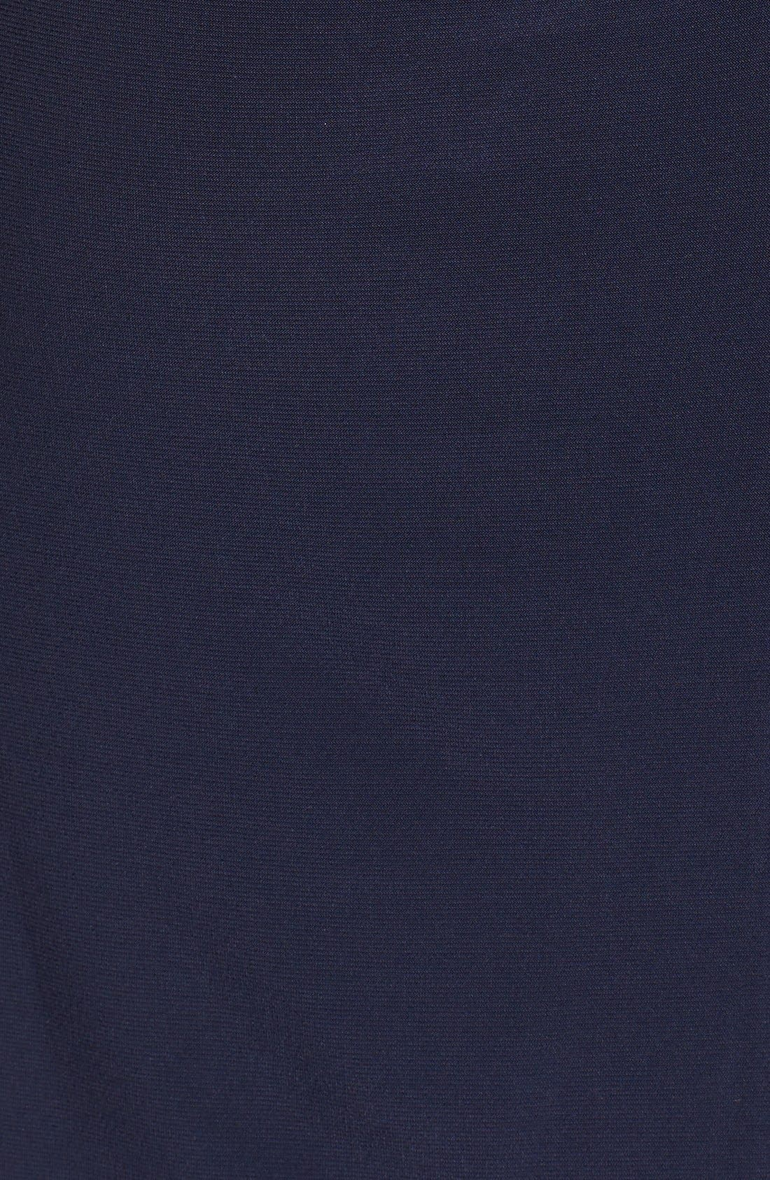 Alternate Image 6  - Xscape Lace & Jersey Off the Shoulder Sheath Dress (Petite)