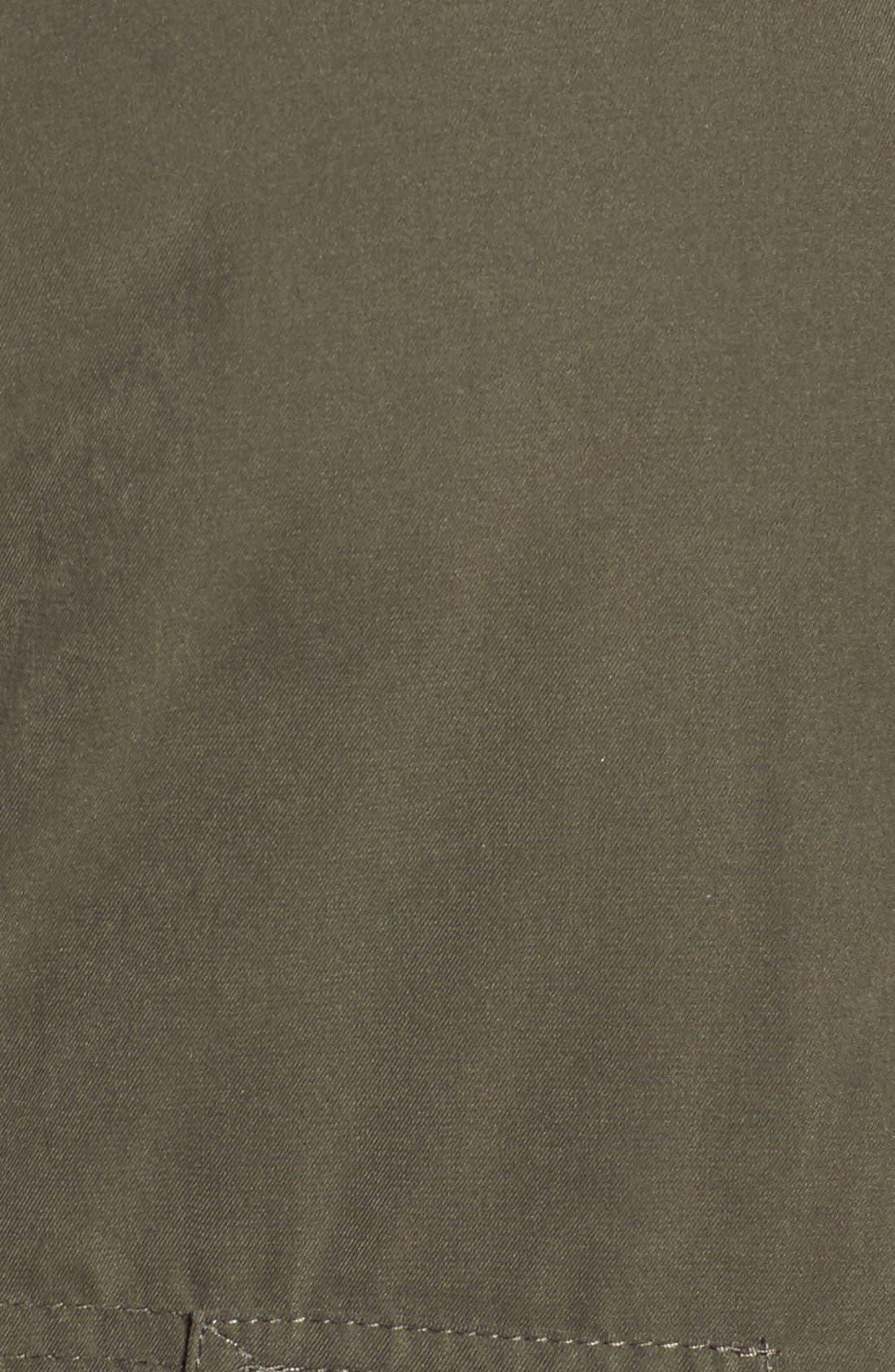 Alternate Image 5  - Halogen® Hooded Parka with Faux Fur Trim (Plus Size)