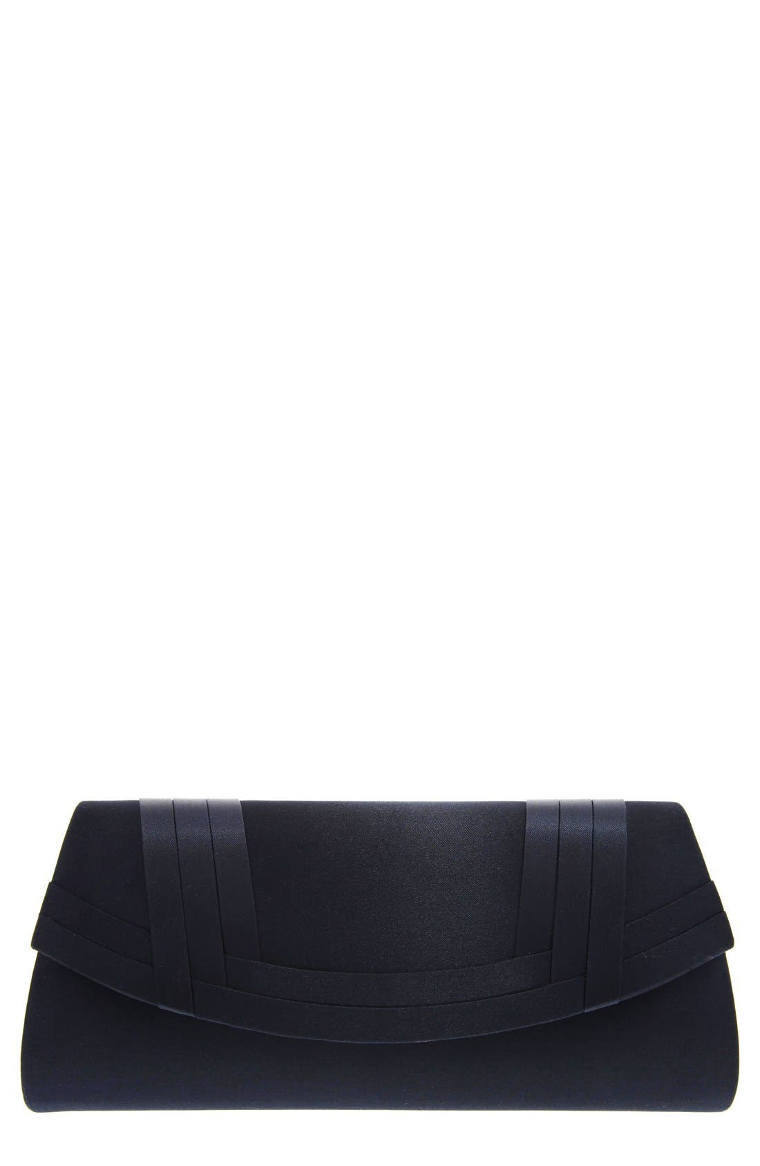 Nina Avis Pleated Classic Clutch