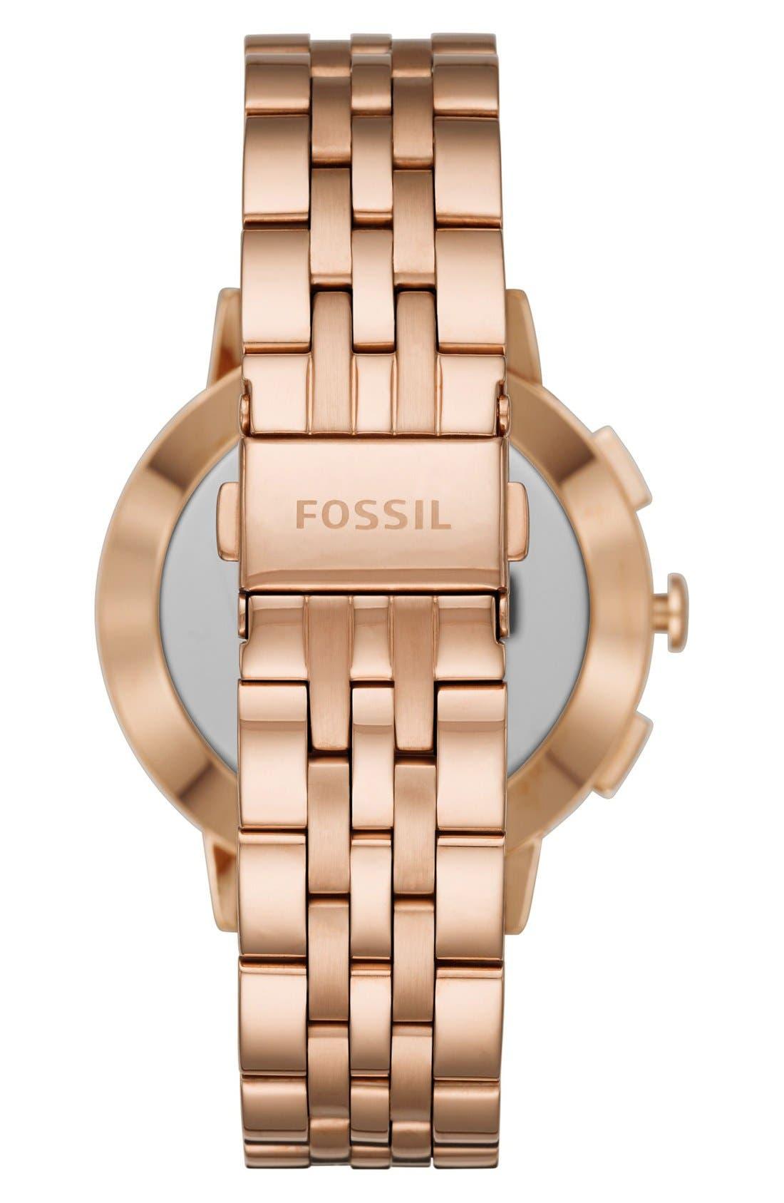 Gazer Bracelet Watch, 41mm,                             Alternate thumbnail 2, color,                             Rose Gold