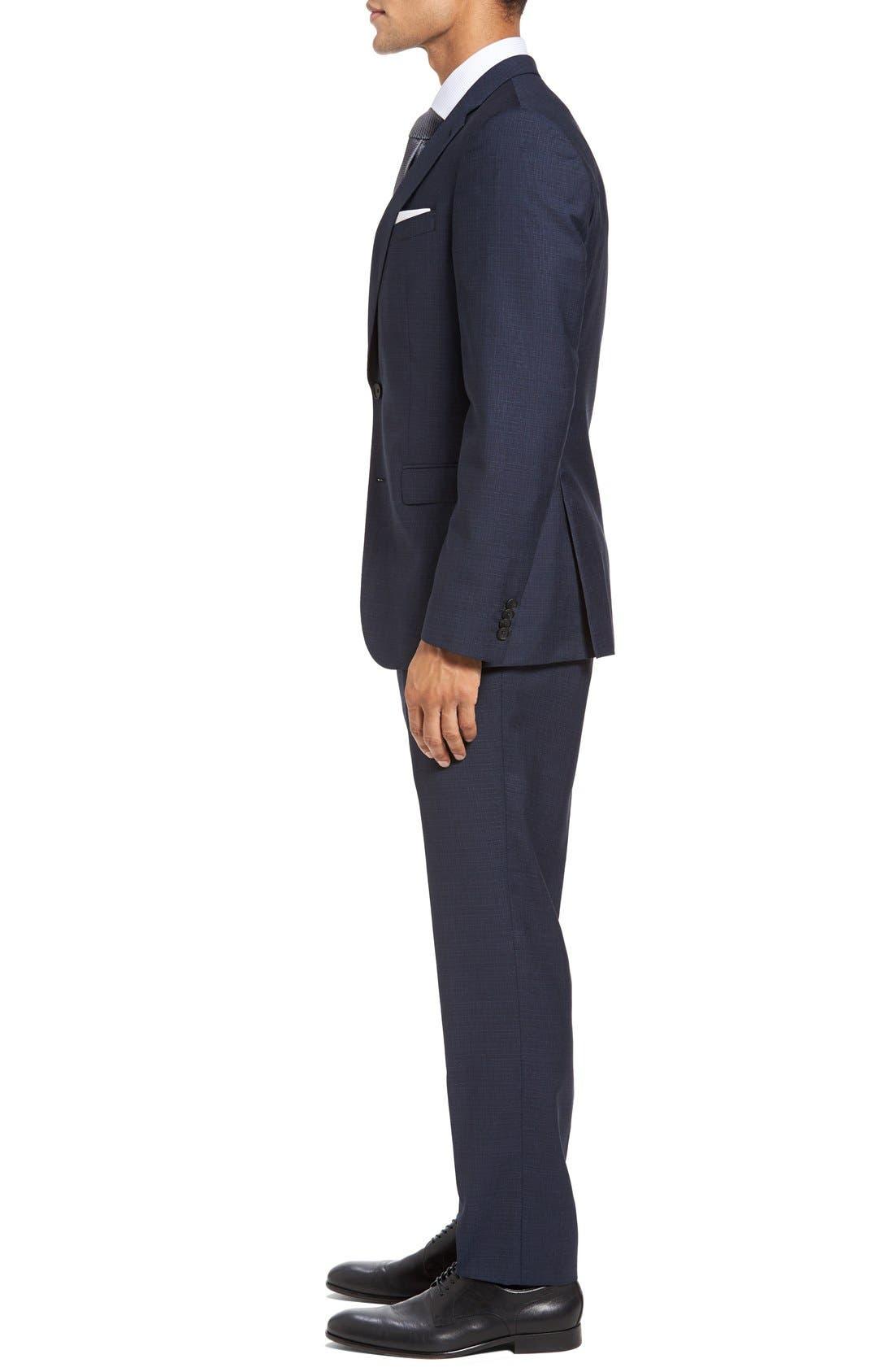 Alternate Image 3  - BOSS Nova/Ben Trim Fit Solid Wool Suit