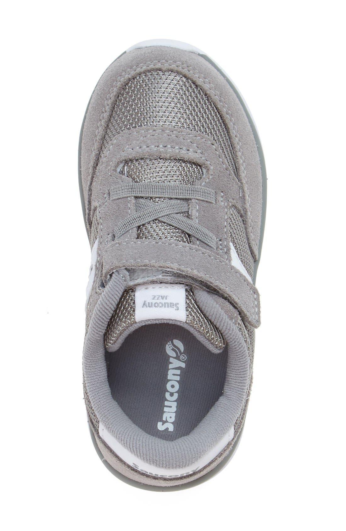 Jazz Lite Sneaker,                             Alternate thumbnail 3, color,                             Grey/ White
