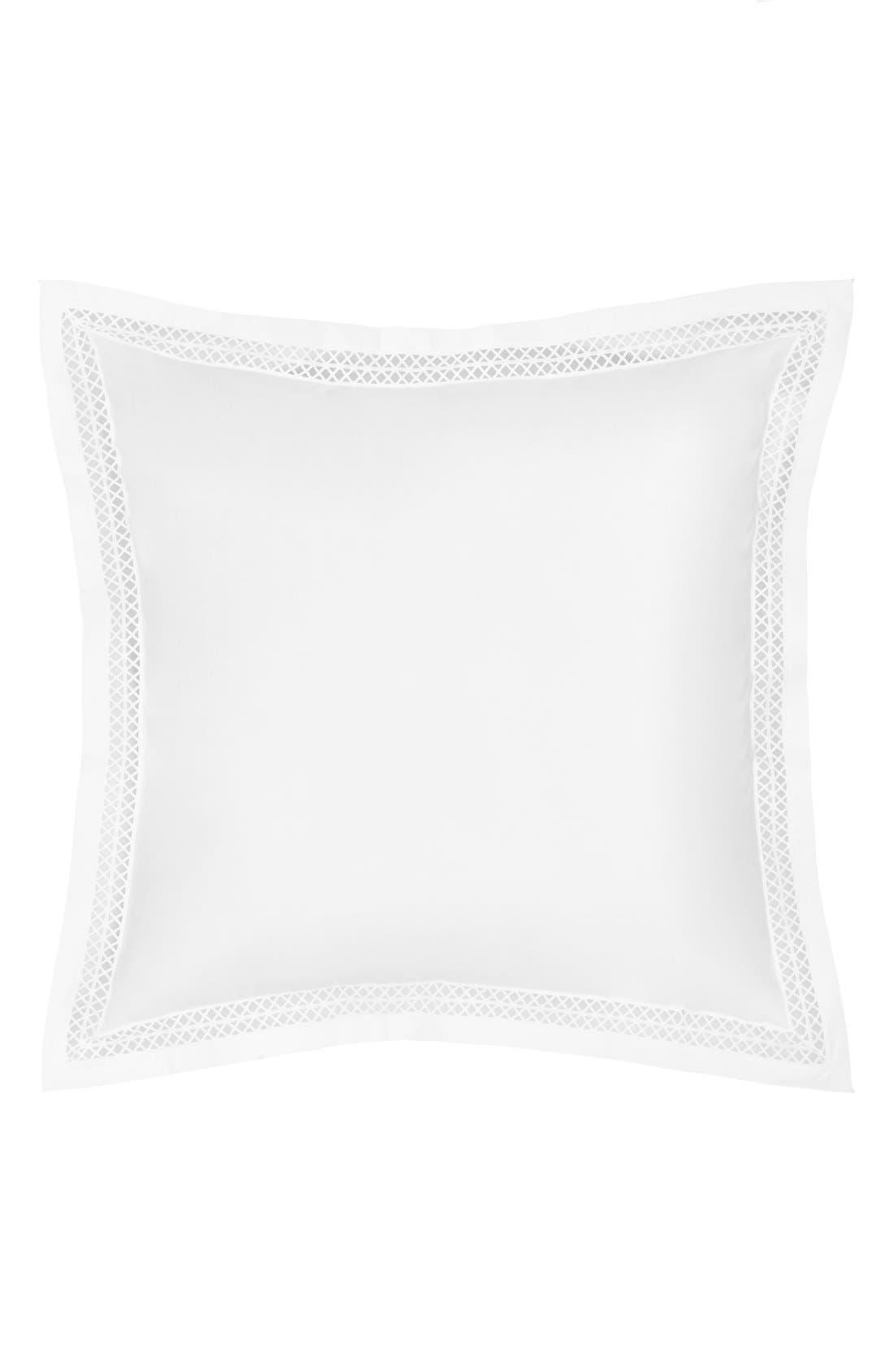 Emilia Euro Sham,                         Main,                         color, White