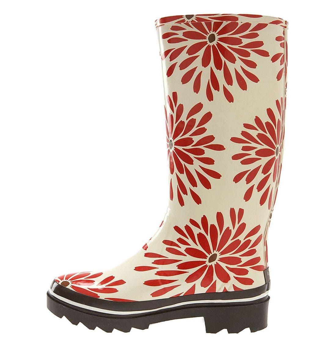 Alternate Image 2  - kate spade 'riley' red daisy rain boot