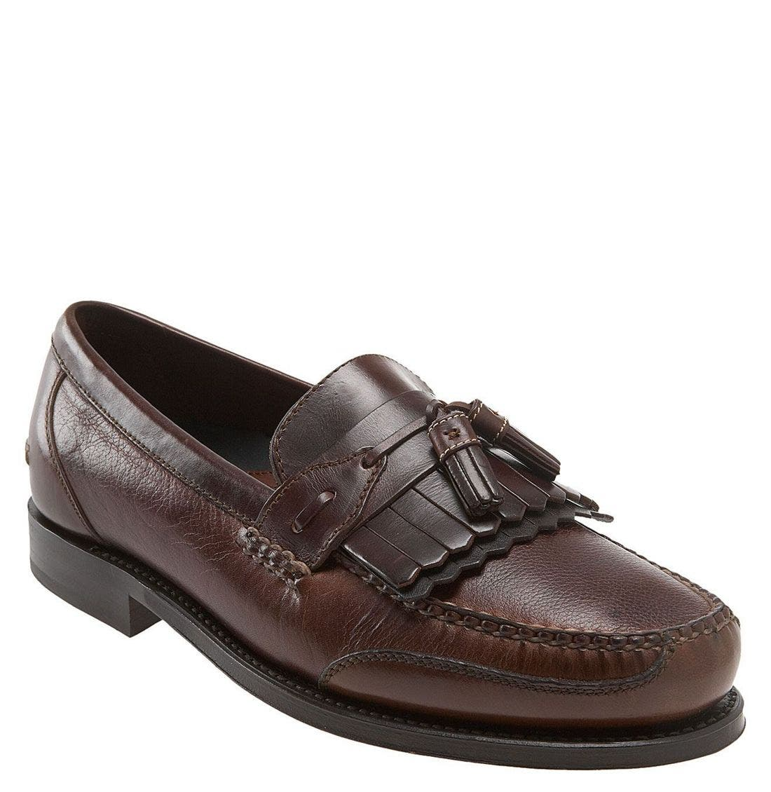 'Murphy' Loafer,                             Main thumbnail 1, color,                             Walnut