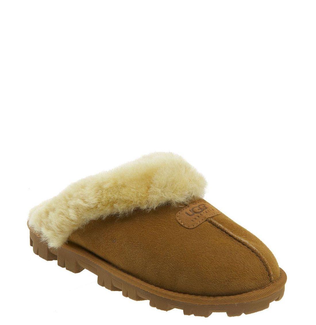 Main Image - UGG® Genuine Shearling Slipper (Women)