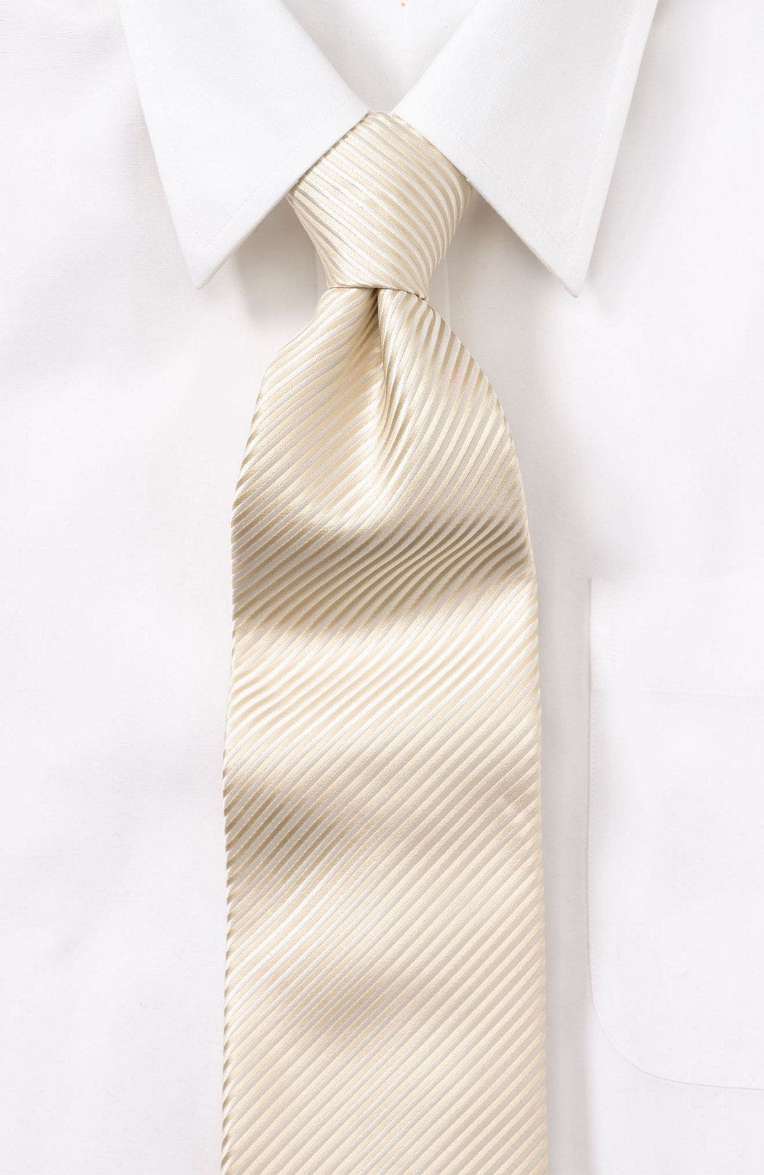 Alternate Image 1 Selected - David Donahue Silk Tie
