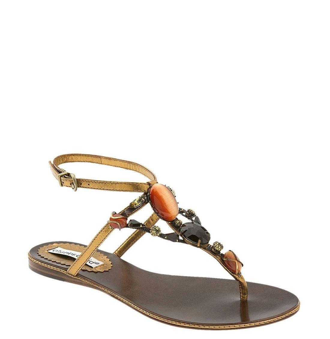 Main Image - Charles David 'Starlite' Thong Sandal