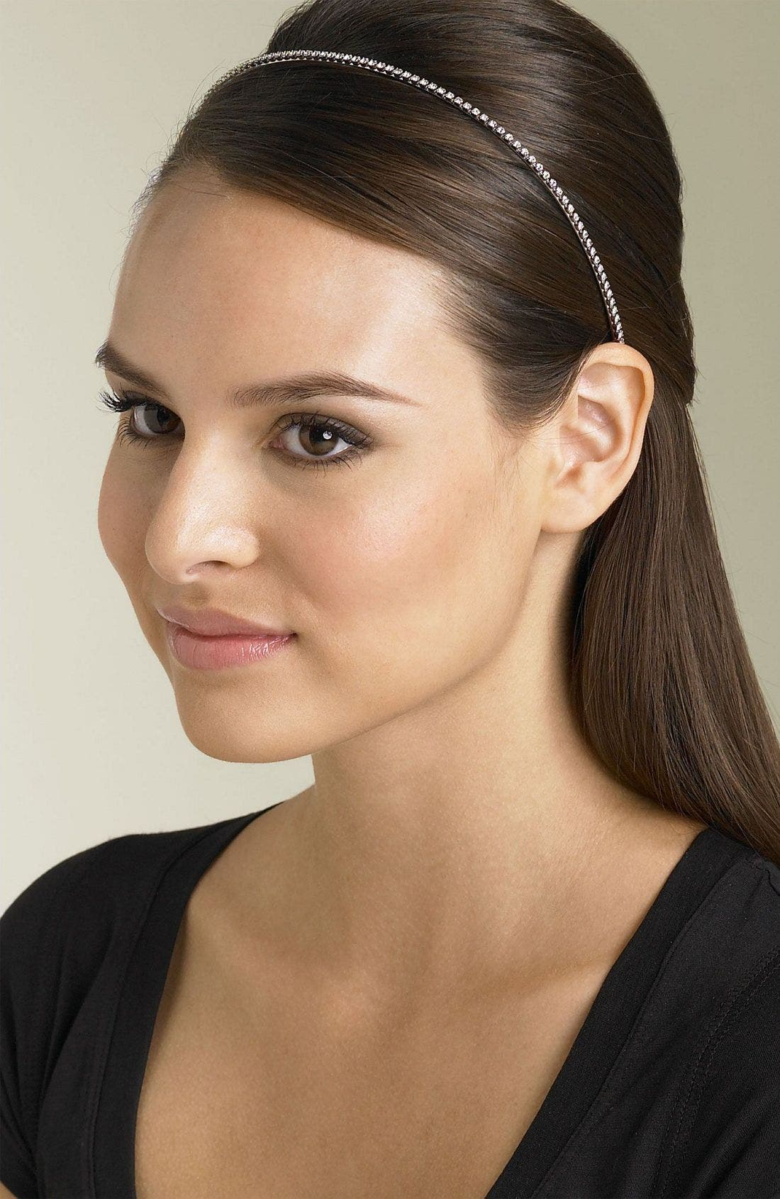 Main Image - Ficcare Swarovski Crystal Chain Headband