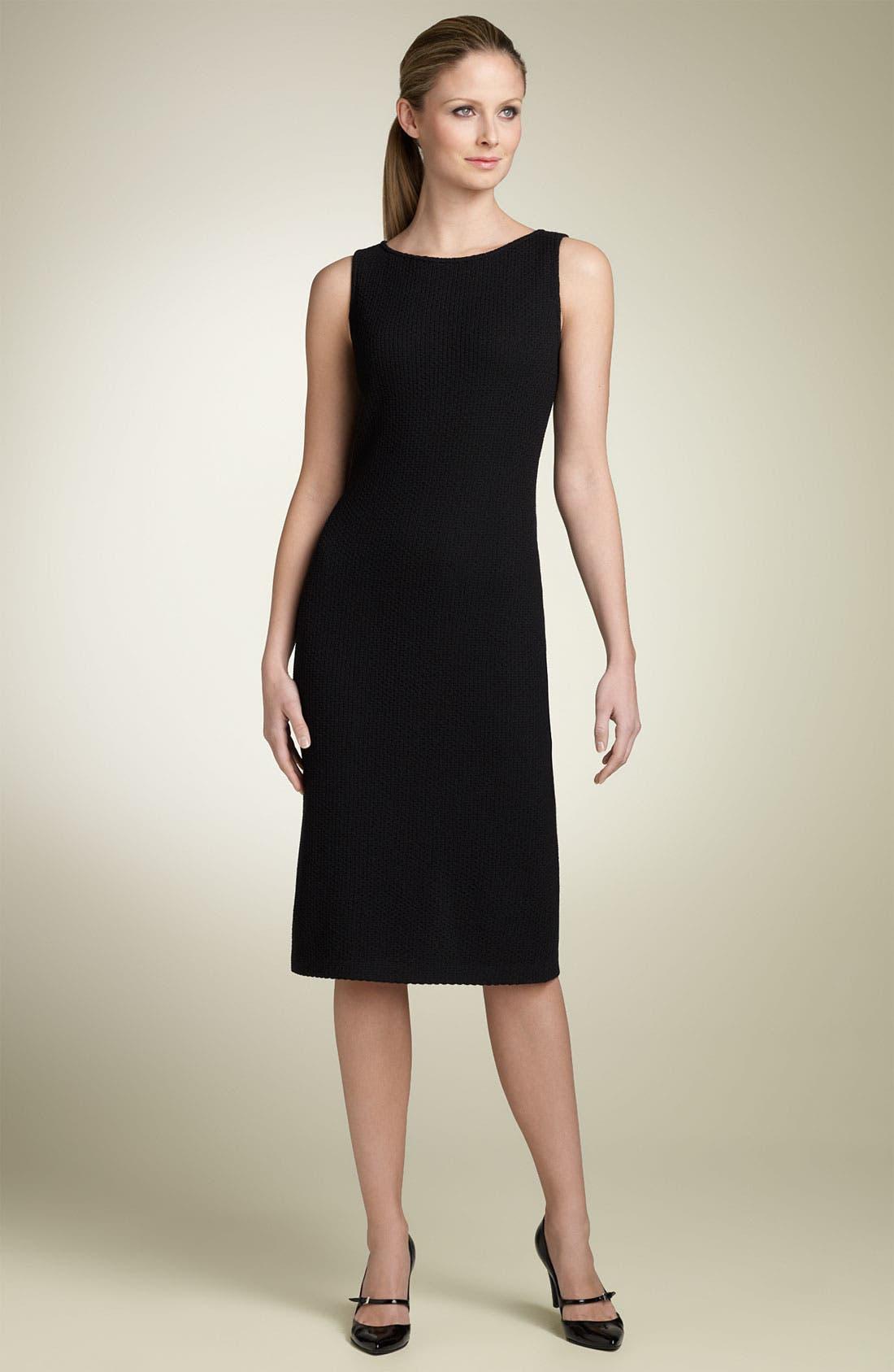 Main Image - St. John Collection Caviar Knit Dress
