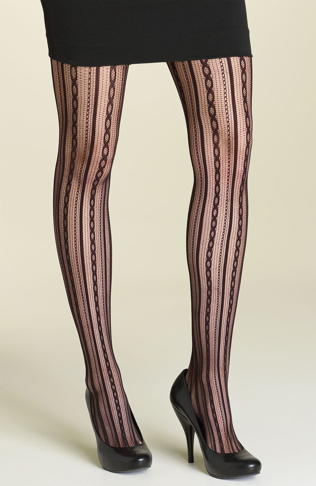 Alternate Image 1 Selected - SPANX® Chain Stripe Tights