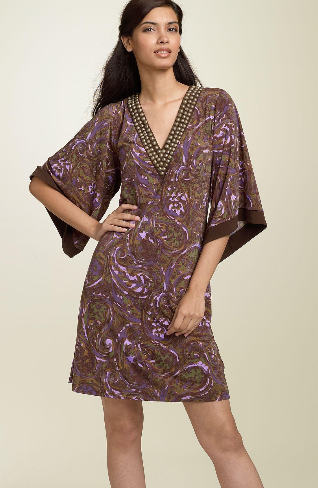 Main Image - MICHAEL Michael Kors Studded Matte Jersey Dress