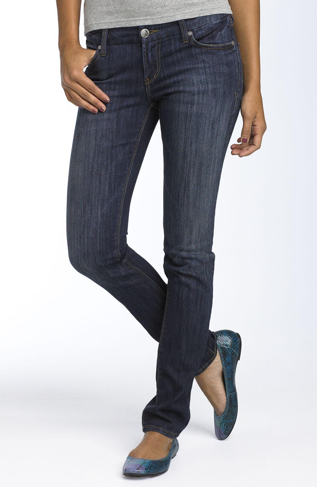 Alternate Image 2  - !iT JEANS 'Rising Starlet' Skinny Stretch Jeans (Juniors)