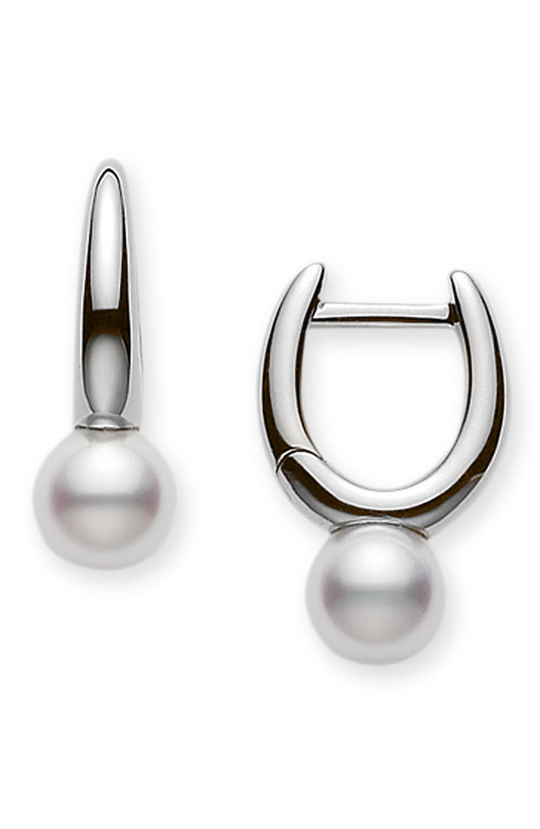 Main Image - Mikimoto Akoya Pearl Earrings