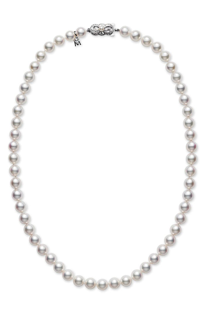 Mikimoto pearl necklace nordstrom for Baby jewelry near me