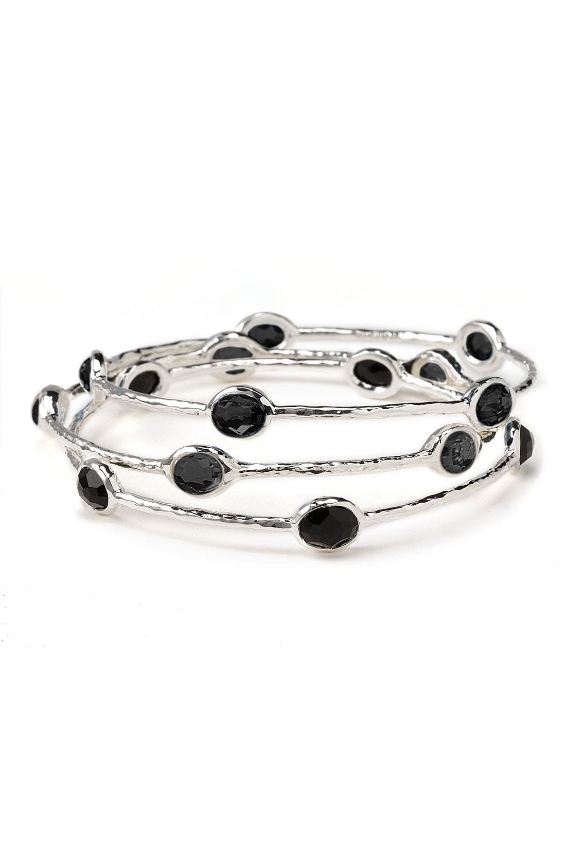 Main Image - Ippolita 'Rock Candy' 5-Stone Sterling Silver Bangle (Online Only)