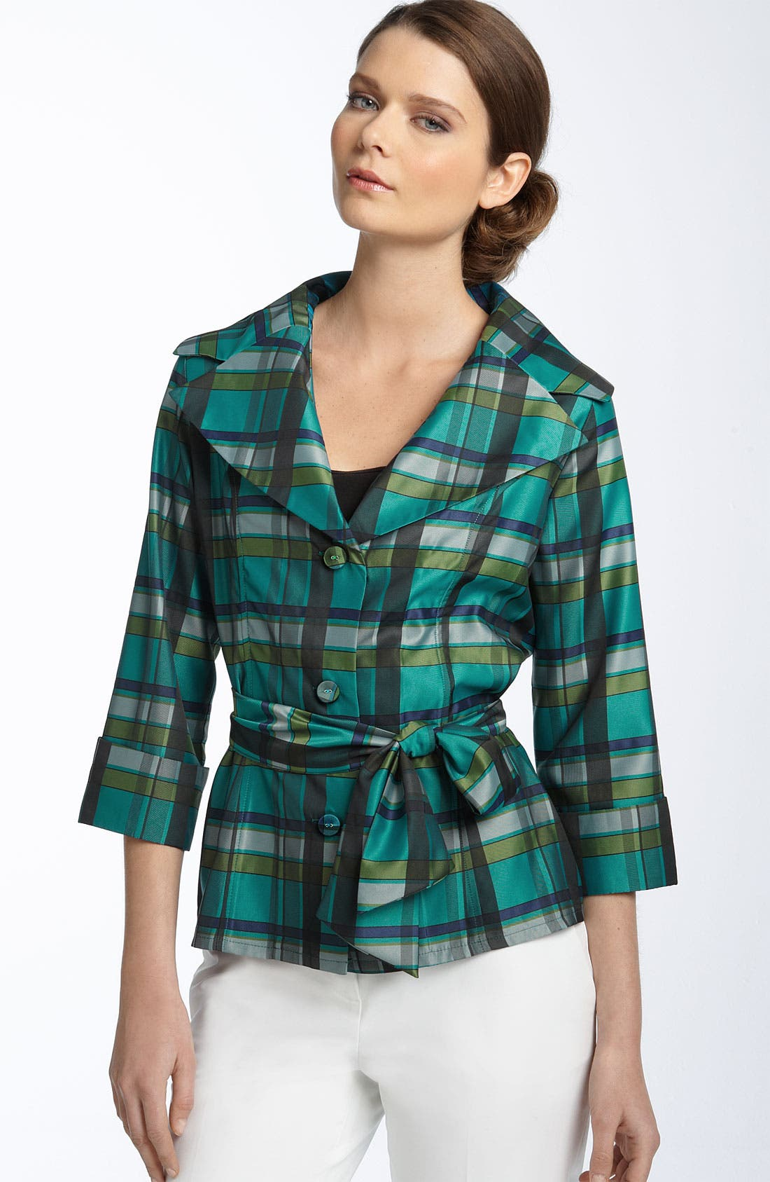 Alternate Image 1 Selected - Puli Plaid Jacket