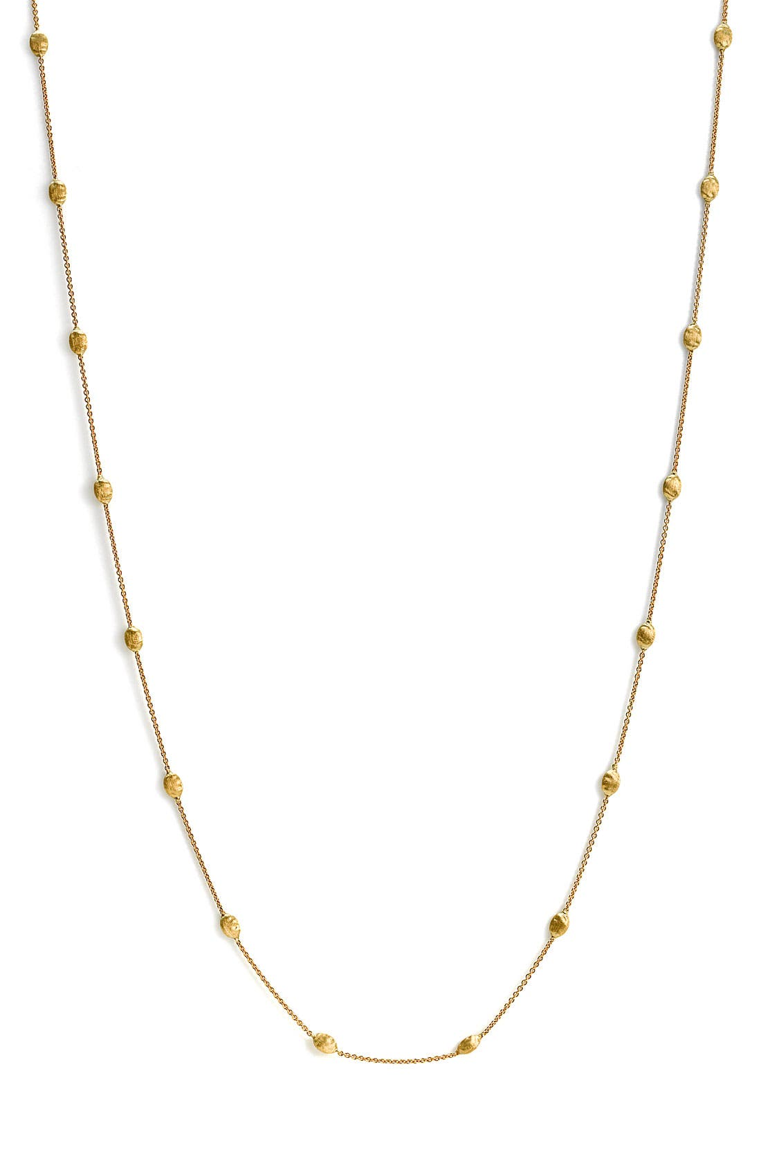 'Siviglia' Long Necklace,                             Alternate thumbnail 3, color,                             Yellow Gold