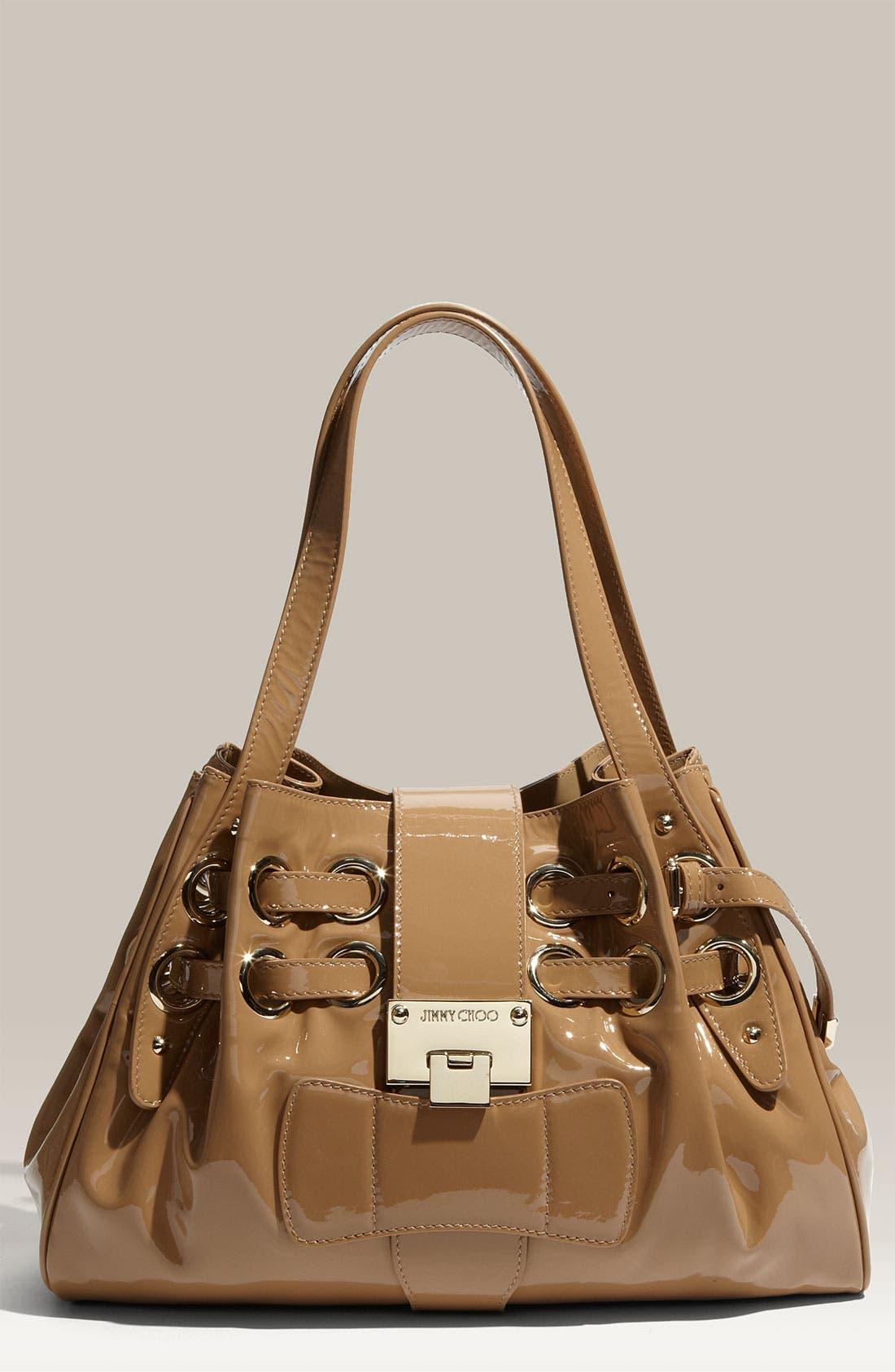 Main Image - Jimmy Choo 'Small' Patent Leather Shopper