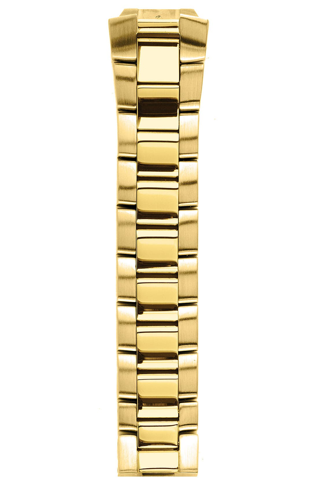 Alternate Image 1 Selected - Philip Stein® 18mm Gold Plated Watch Bracelet
