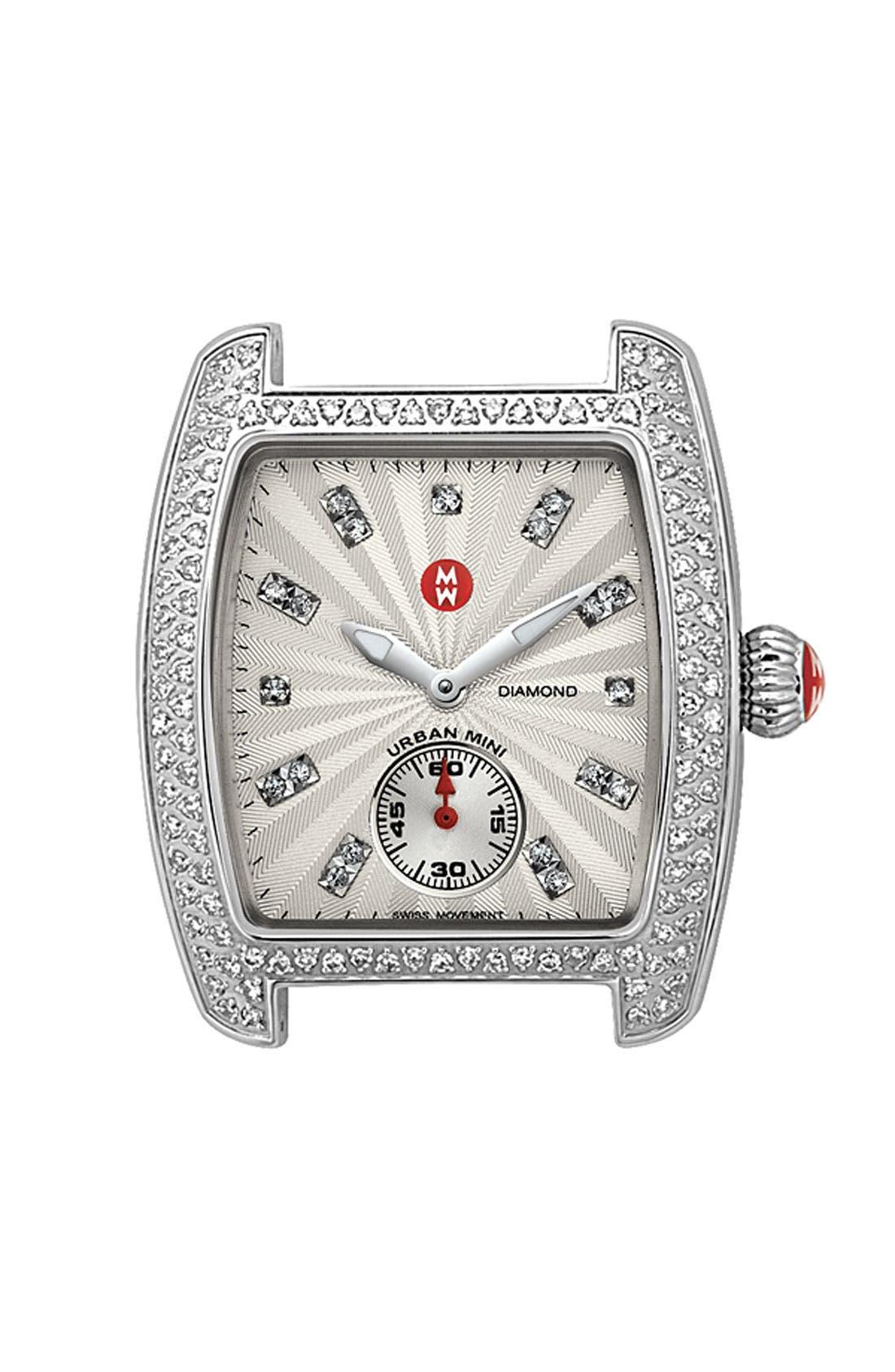 Main Image - MICHELE 'Urban Mini Diamond' Diamond Dial Watch Case, 29mm x 30mm