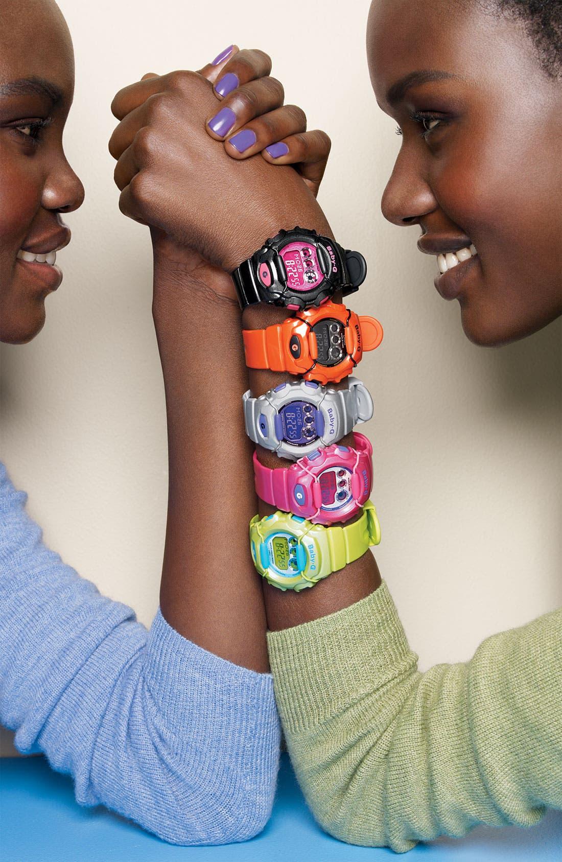 Alternate Image 2  - Casio 'Baby-G Metallic' Digital Watch