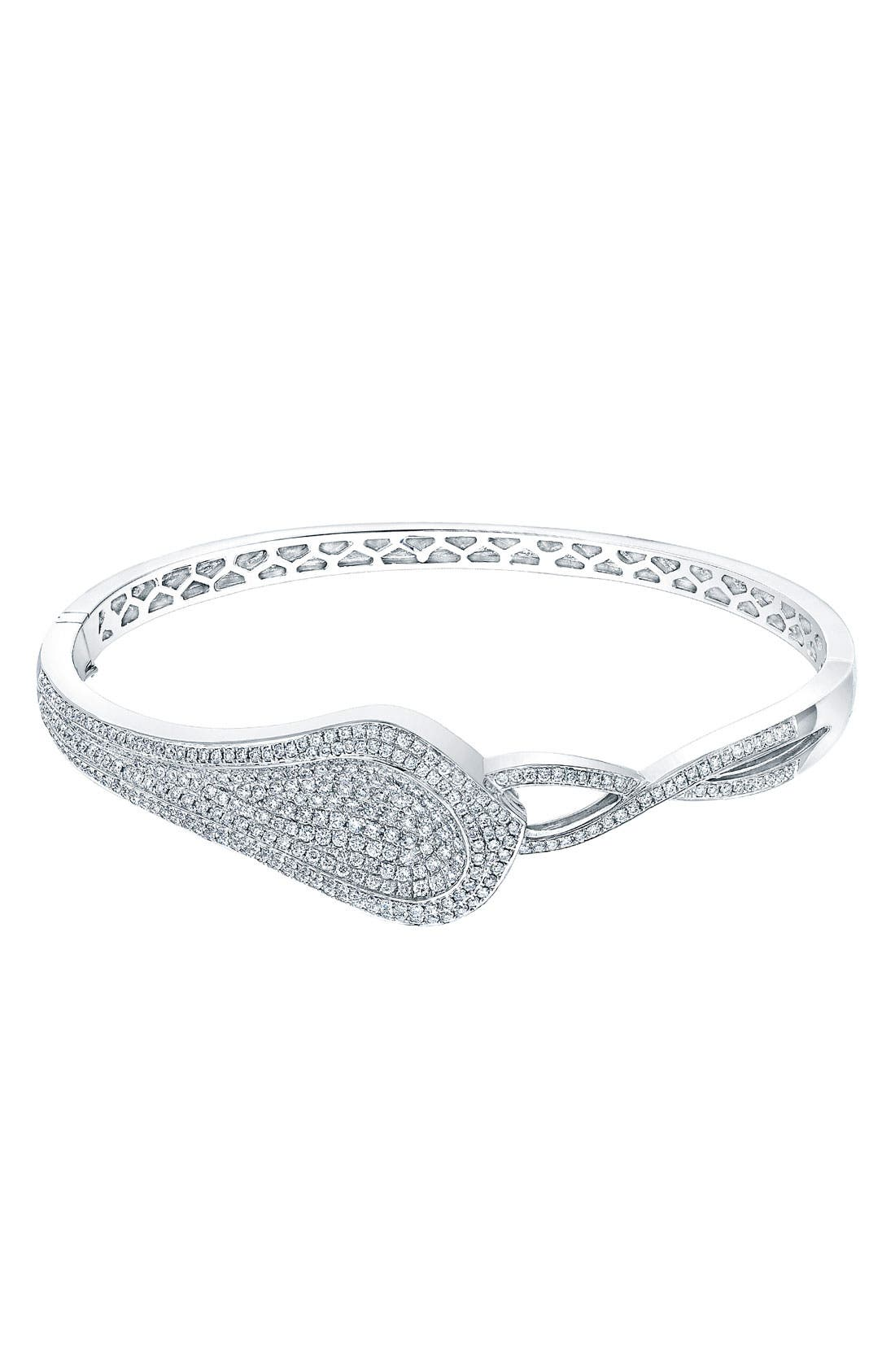 Alternate Image 1 Selected - Bony Levy 'Paisley' Diamond Bangle (Nordstrom Exclusive)