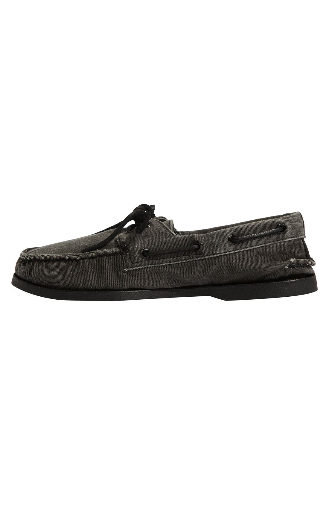 Alternate Image 2  - Sperry Top-Sider® 'Authentic Original' Canvas Boat Shoe (Men)