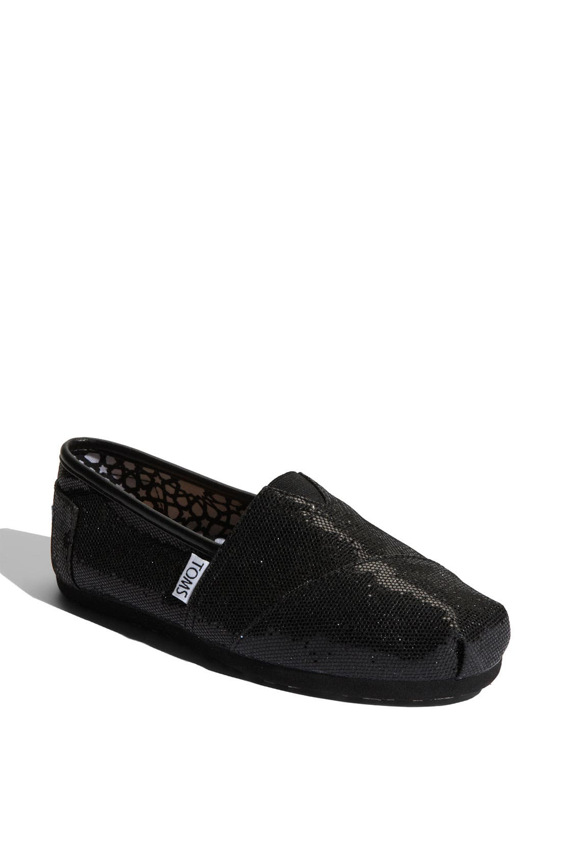 'Classic - Glitter' Slip-On,                         Main,                         color, Black