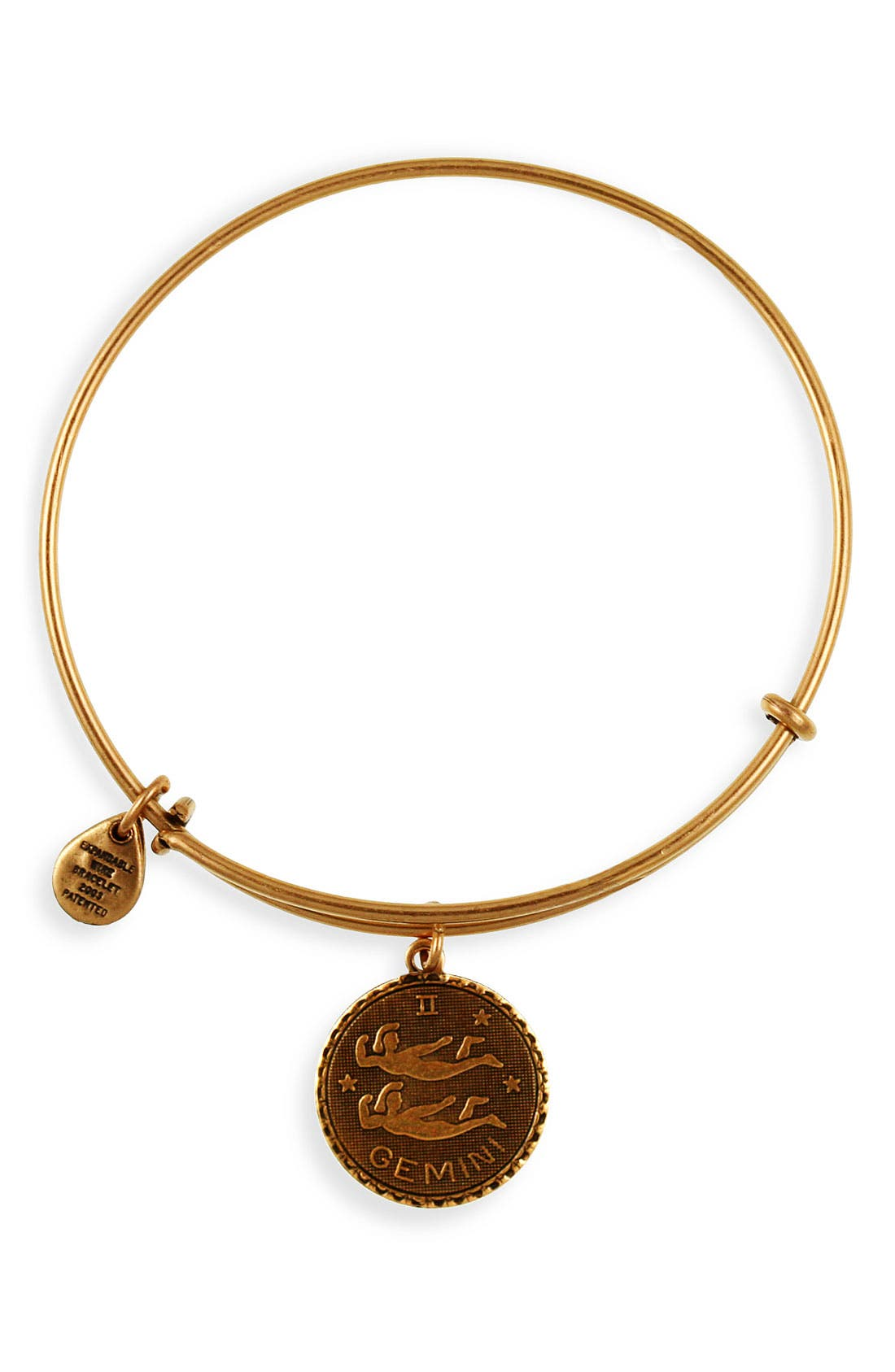 Main Image - Alex and Ani 'Cancer' Expandable Wire Bangle