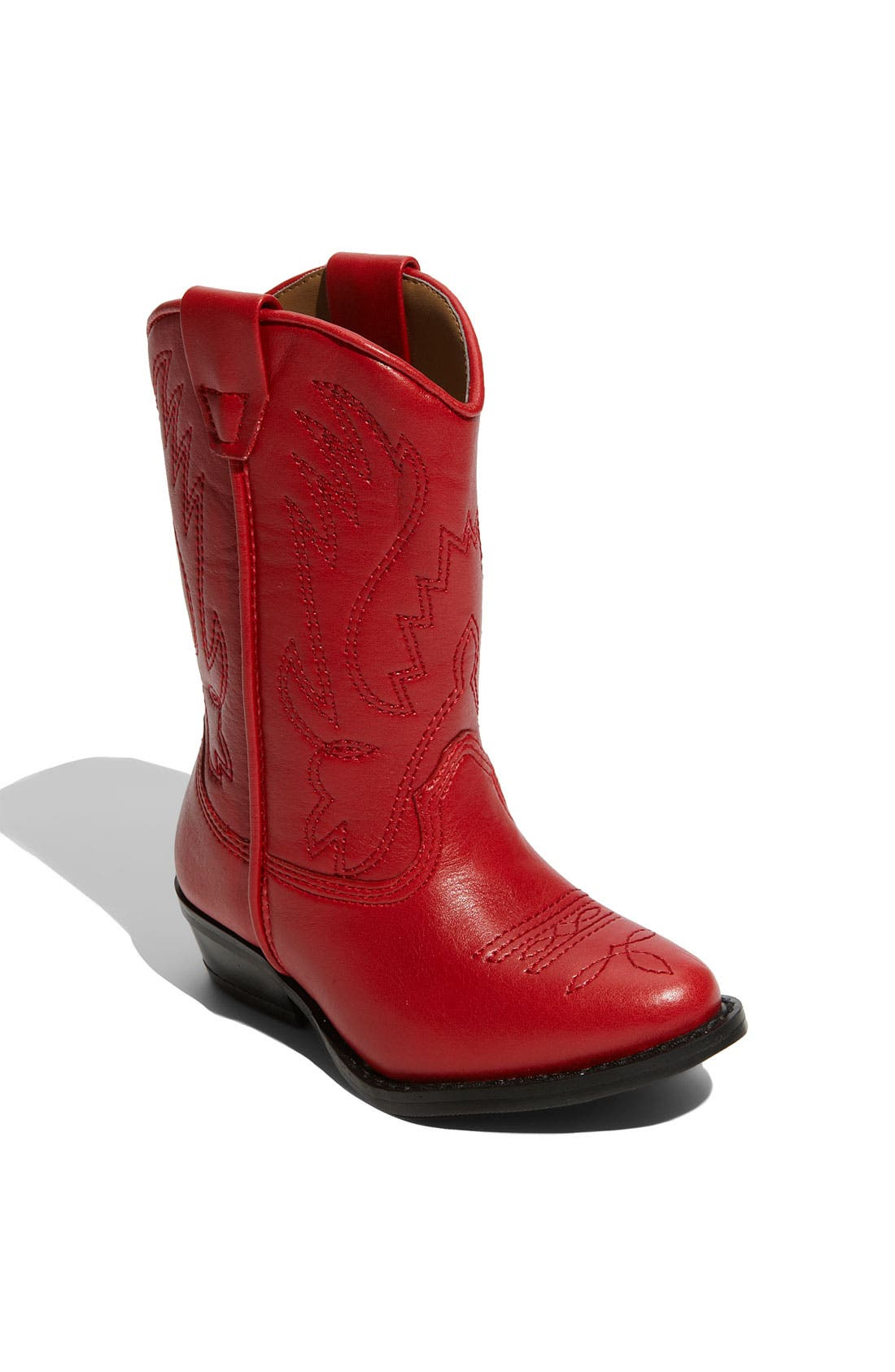 Alternate Image 1 Selected - Nordstrom 'Cassidy' Faux Leather Boot (Toddler, Little Kid & Big Kid)