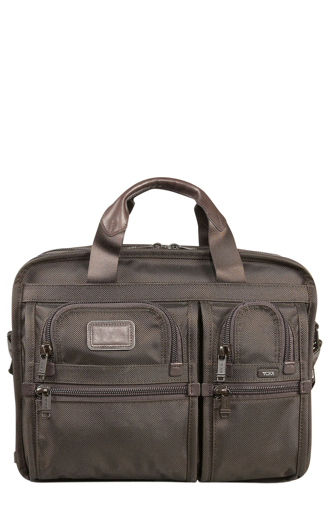 Alternate Image 1 Selected - Tumi 'Alpha - T-Pass™' Expandable Laptop Briefcase