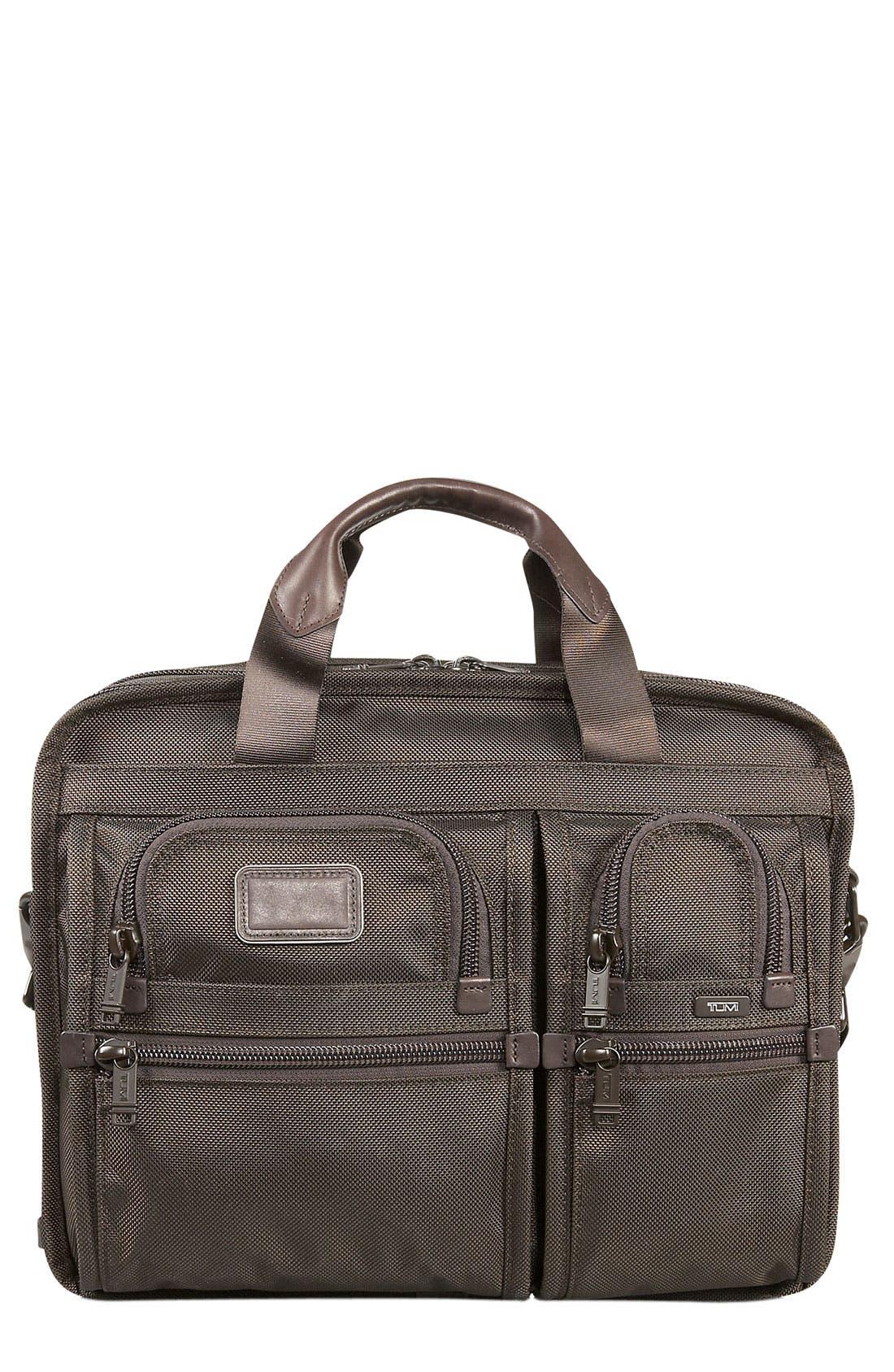 Main Image - Tumi 'Alpha - T-Pass™' Expandable Laptop Briefcase