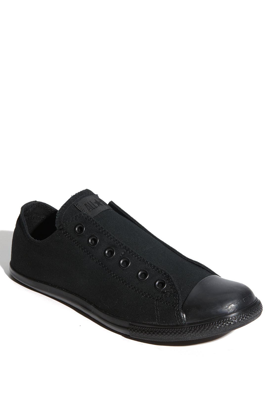 Alternate Image 1 Selected - Converse Chuck Taylor® 'Slim' Low Top Canvas Sneaker (Men)