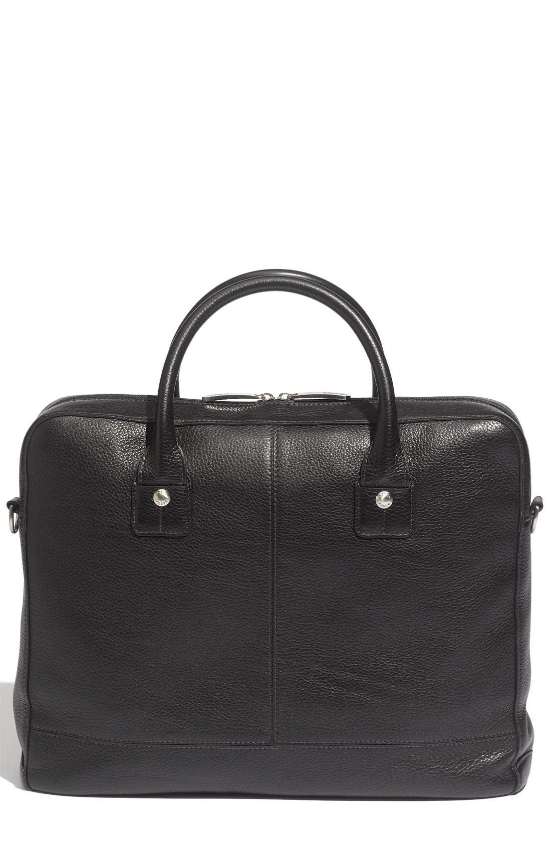 Alternate Image 2  - Bosca Slim Leather Briefcase