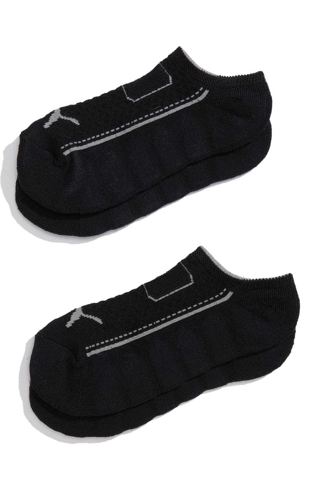 Alternate Image 1 Selected - PUMA No-Show Running Socks (2-Pack) (Women)