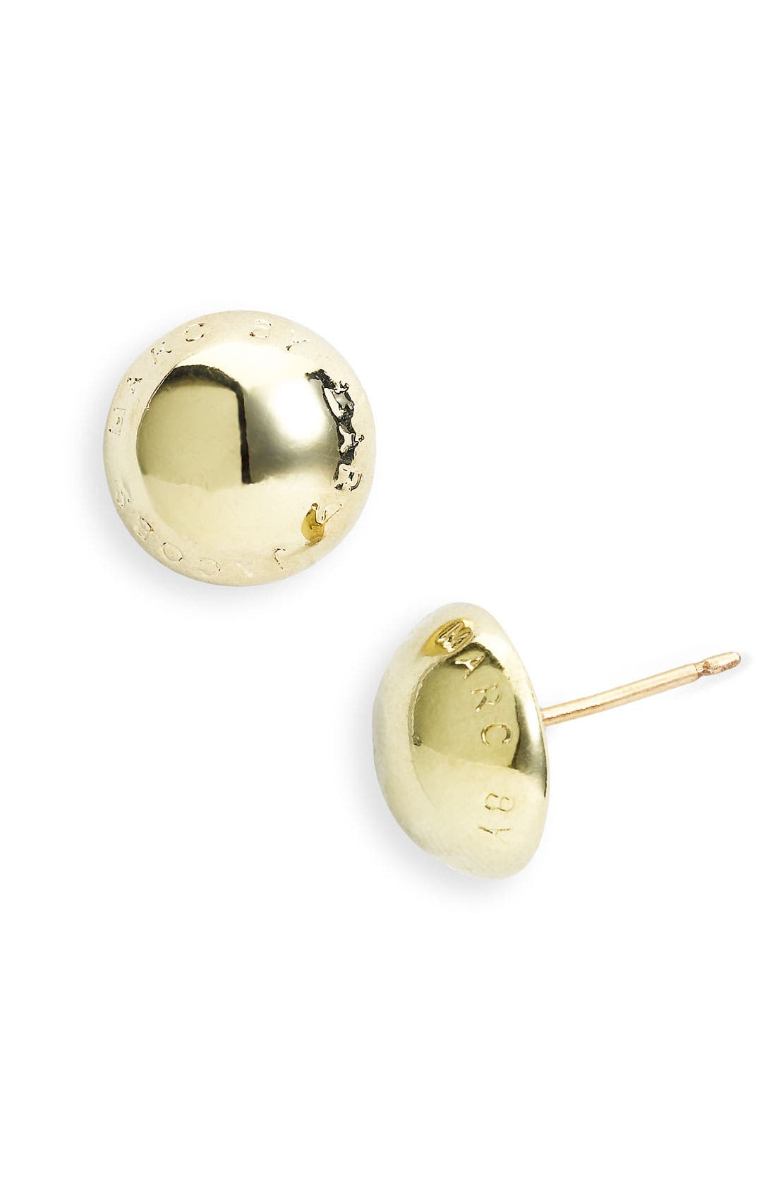 Alternate Image 1 Selected - MARC BY MARC JACOBS 'Classic Marc' Logo Earrings