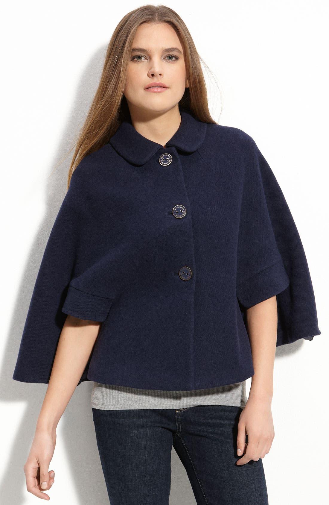 'Jane' Wool Blend Cape,                         Main,                         color, Regal