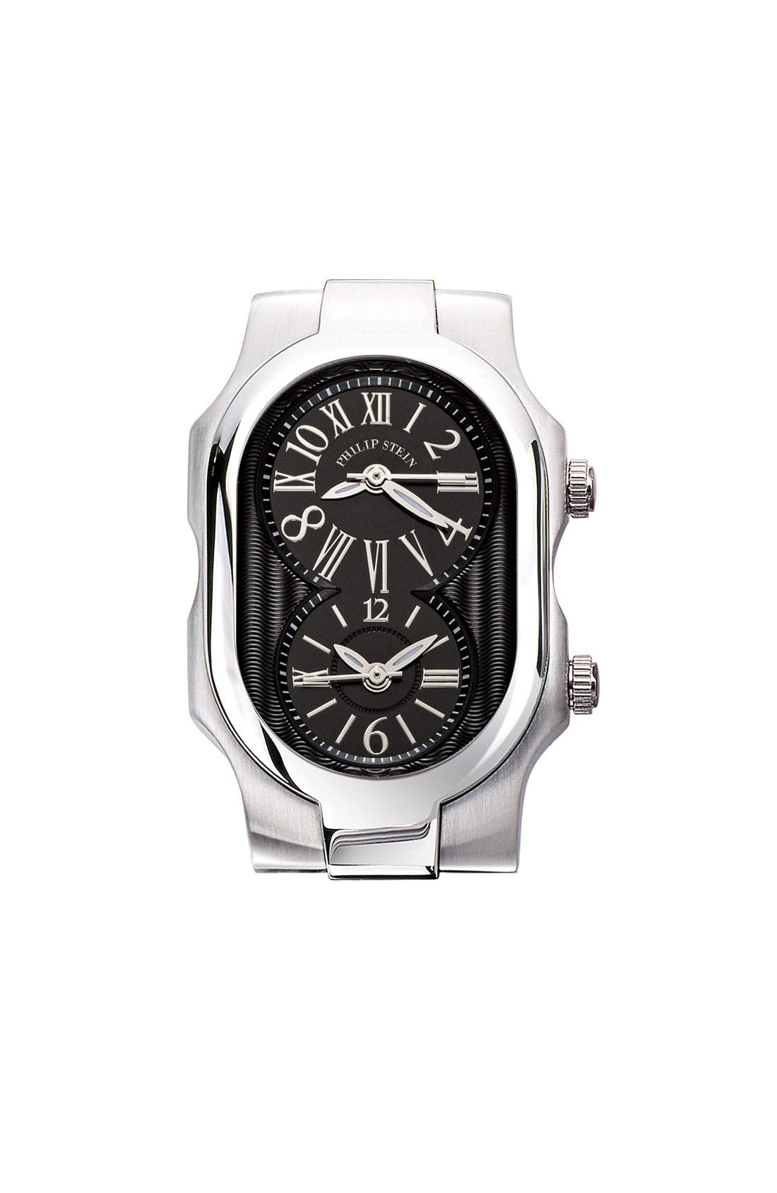 Alternate Image 1 Selected - Philip Stein® 'Signature' Small Black Dial Watch Case