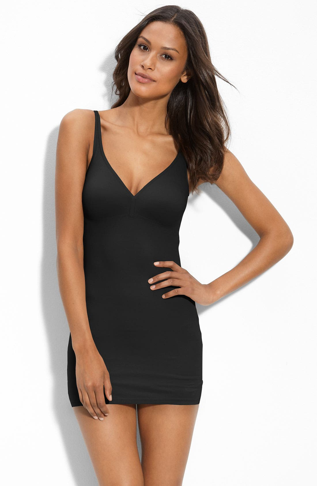 Alternate Image 1 Selected - DKNY 'Fusion' Full Slip