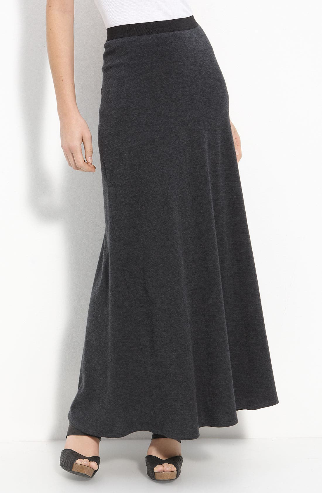 Alternate Image 1 Selected - Vince Wool Knit Maxi Skirt