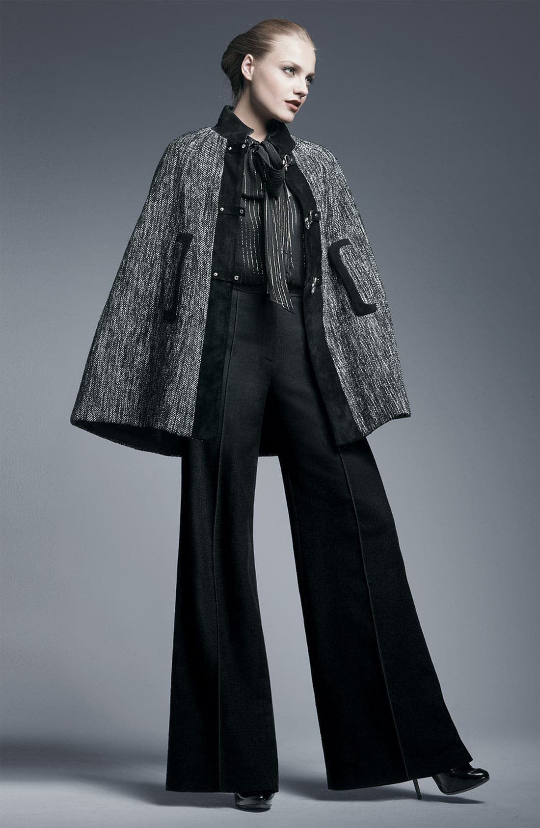 Alternate Image 2  - Milly 'Trish' Suede Tab Trim Trousers