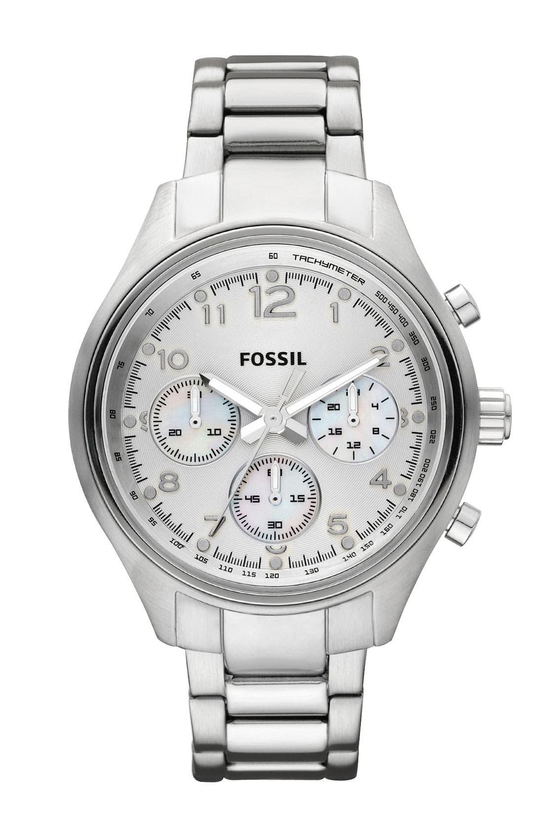 Main Image - Fossil 'Flight' Bracelet Watch